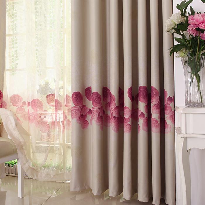 Modern brief curtain full shade cloth quality(China (Mainland))