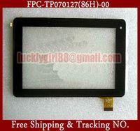 Original 7'' inch AOSON M723 QUAD CORE Capacitive Touch Screen 187x116mm Ribbon Cable Code: FPC-TP070127(86H)-00 black