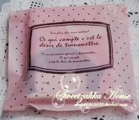 Free Shipping Wholesale 300pcs/lot 24x7x45cm Pink Dots Waistcoat Bag Gift Bag Food Bag Thickness 0.04mm