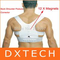 Free Shipping Magnetic Therapy Posture Back Shoulder Corrector Support Brace Belt