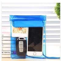 Waterproof bag dive camera phone sets