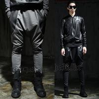 2014 new autumn Men Harem Pants Hip Hop baggy Sports Pants drop crotch pants men sweatpants calca moletom masculina man trousers