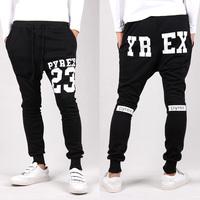 Free shipping 2014 Fall Tops Men Harem Pants sports Casual Loose design harem sweatpants skinny trousers drop crotch pants men