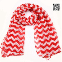 FREE SHIPPING 2014 New Arrival 180*100cm Long Stripe Infinity Chevron Scarf Wholesale