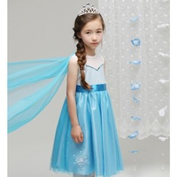 2014 summer new romance aisha FROZEN ice princess dress children dress
