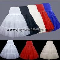 Free Shipping Hot Ball Gown Crinoline Swing Tulle Nylon Bridal Petticoat Girls Wedding Skirt Slip Underskirt Rockabilly Tutu