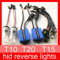 wholesales hid reverse lights DC12V 15W hid backup light hid kit T10/T15/T20 MOQ: 5 sets free shipping