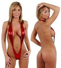 popular metallic silver bikini