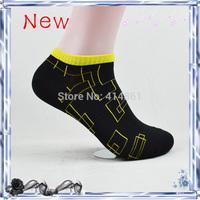 New 2014 Free shipping 12 colors summer Cotton socks man socks sport sport socks (12 pieces = 6 pairs)