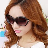 New 2014 Women's Fashion Sunglasses Large Frame Eyeglasses Summer Sun Glasses Free Shipping #B-155