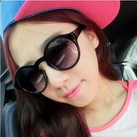 2014 New Women's Fashion Sunglasses Summer Eyeglasses Round Glasses Wholesale and Free Shipping #B-153