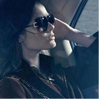 Free Shipping! Star Models Sunglasses Large Frame Sun Glasses Yurt Female Visor Mirror Eyeglasses #B-95