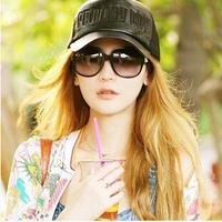 Hot Sale 2014 Fashion Summer Big Box Sunglasses Women Glasses Eyewear Yurt Wholesale and Free Shipping #B-7