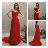 High Quality Sweetheart A-Line Bridesmaid Dresses Elegant Bow Chiffon Floor-Length Adult Prom Dress cc007