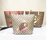2014  New Girl fashion backpack British style  Handbag Children travel bag  Exclusive fashion girl Retail