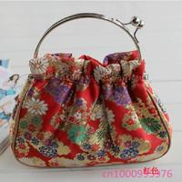 Free shipping!10 PCS Fashion buckles handbag Ms printing jewelry bag,handbag,Cosmetic bag