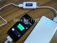 Digital display Voltage 3~7V and Current USB detector mobile phone USB charger tester meter