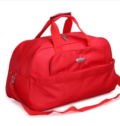 2014 Fashion Foldable portable shoulder bag waterproof travel bag Travel luggage large capacity Travel Tote men and women(China (Mainland))