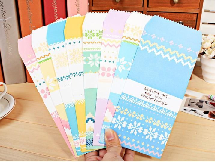 Wholesale new vintage Scottish style envelope multicolour/diy gilt decorated /wedding envelope /150pcs/set/ free shipping(China (Mainland))