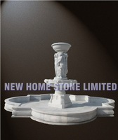 garden water features pool with figure carving statue outdoor fountains for sale