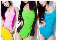 2014 hot sexy thin triangular piece swimsuit cover the belly female free shipping LT036