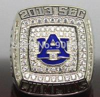 Free shipping replica 2013 Auburn Tigers NCAAF SEC BCS National Championship ring-Mason size 11