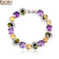 Optical crystal diamond bracelet aaa zircon bracelet dinner female gift