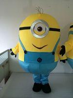 Coming Soon Despicable Me Minion Single Eyes Mascot Costume Cartoon Cosplay EVA High Quality