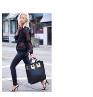 Free shipping Fashion 2014 beauty one shoulder handbag women's handbag  print bags