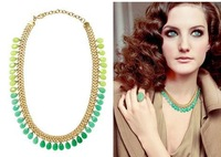 brand new fashion long necklaces pendants vintage women 2014 statement necklace women jewelry wholesale