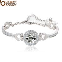 sona Bracelet Cubic Zirconia 18K white gold plated bracelet female
