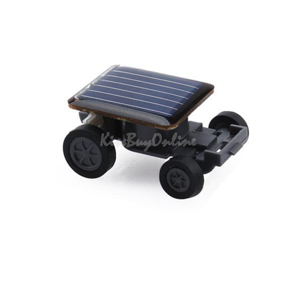 Solar Power Mini Toy Car Racer Educational Gadget W F#OS(China (Mainland))