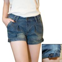 2014 women shorts jeans feminino summer denim shorts woman pants black denim ladies shorts pantalones cortos