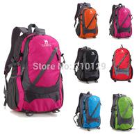35-40L waterproof women&men travel bags tourist hiking backpacks mountaineering bagpacks outdoor camping mochilas 2014