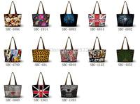 New! Fashion Womens Ladies Big Capacity Canvas Messenger Shoulder Tote Purse Shopping Bag Handbag  Washable Free Shipping