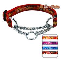 "Nylon Dog Pet Choke Chain Training Collar All Colors 16-29"" Adjustable 1.0"" Wide Painting Print"