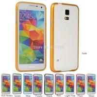 Fashion Metal Aluminum Bumper Frame Case Cover For Samsung Galaxy S5 i9600 G900