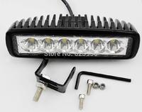 Car work light 18w 12V LED Spotlight front fog lamps headlamps for light trucks motocross vehicle ATV