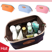 1pcs New 2014 Women Cosmetic Bags Makeup Organizer Handbag Travel Necessaries Storage Bag Beauty Case - BIB40  Wholesale PT41 ST