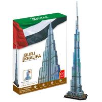 Free shipping 3D Building Paper Model Puzzle 1.5m Burj Khalifa Tower DIY Children Educational toys hot sale