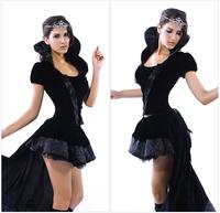 Eudora 2014 New Feminina Fantasia Erotic Cute Cartoon Character Cosplay Princess Prom Queen Of Halloween Costumes With Cocktail