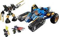 Jie And Kou Thunder Commando! 2014 NEW Bela Phantom Ninja Series 70723 Plastic Building Blocks Assembled Toys, Educational Toys!