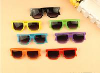 2014 summer new children kids baby sunglasses for boy and girl glasses mosaic fashion sunglasses ETYJ004