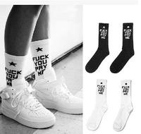 24pcs=12pair cheap Cotton SSUR fuck you pay me SOCKS thin style summer plantlife skateboarding outdoors sport socks 24pcs/lot