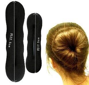 Мода 2014 новый сладкий черный губка мяч волосы диск длинные волосы волосы средства ...