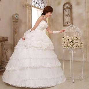 Free shippingTop wedding 2014 new summer Korean flower decorative bow bride Princess ladies stomacher type bandage gauze free sh(China (Mainland))