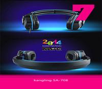 Headphone KL SA-708 Game Headset  With Mega Bass Fashion High Quality Free Shipping