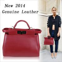 Yao to hide it 'mini Peekaboo mini leather laptop bags RL064
