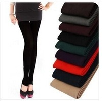 FREE SHIPPING COLOR FOR CHOICE WOMEN WARM WINTER SKNNY STRETCH FLEECE LEGGING PANT