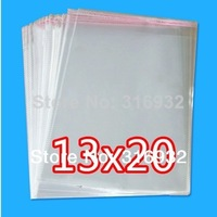 Clear Resealable Cellophane/BOPP/Poly Bags 13*20cm  Transparent Opp Bag Packing Plastic Bags Self Adhesive Seal